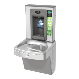 mains water dispenser for drinking water and refilling reusable water bottles